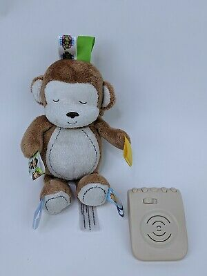 Taggies Monkey Plush Electronic Nature Sounds Noises Calming