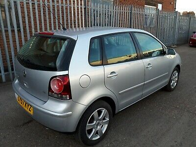 2008 volkswagen polo MATCH 80 AUTO AUTOMATIC DAMAGED REPAIRABLE SALVAGE