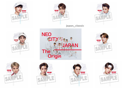 NCT 127 1st Tour NEO CITY JAPAN The Origin GOODS CLEAR FAN JAPAN Tracking