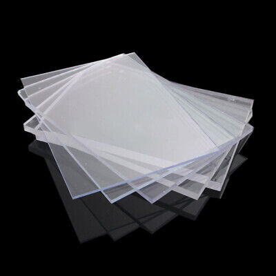 2/3/4mm Clear Plastic Acrylic Perspex Sheet Custom Cut Panel 148*105mm