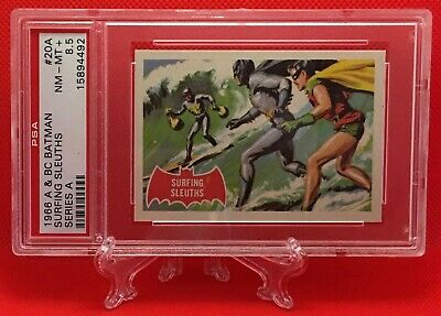 1966 Batman SURFING SLEUTHS #20A NM-MINT 8.5+ NONE HIGHER - A&BC garno PSA