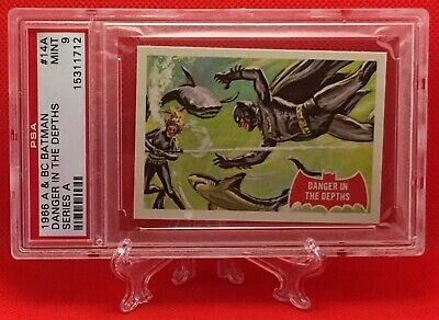 1966 Batman DANGER IN THE DEPTH #14A MINT 9 NONE HIGHER - A&BC garno PSA