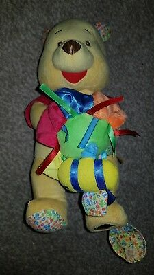 Disney Winnie The Pooh Plush Toy Teddy with vibration and mirror, able to hang
