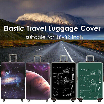 Elastic Travel Luggage Cover Suitcase Trolley Dustproof Protector Case 18-32''