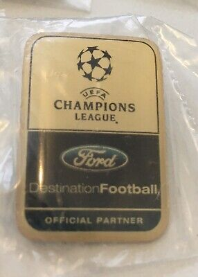 Rare Champion League Spurs /Liverpool Ford Badges For All The 4 Badges New I