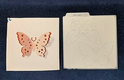 3-Dimensional  DR0295 Lifestyle Crafts QuicKutz 4x4 Single Die BLOOM  Folded