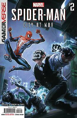 Spider-Man City At War # 2 Clayton Crain Cover A NM Marvel Pre Sale Ships Apr 17