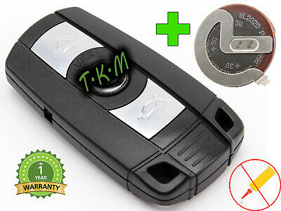 3 Buttons Remote Control Key For Bmw E60 E61 E92 Z4 X1 X5 X6 + Battery Lir2025