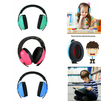 Kids Folding Ear Defenders Noise Reduction Protectors Muff Child Baby UK Stock