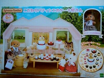 Sylvanian Families Epoch Pastry/'s Sweets Cake set VS-05 New Japan