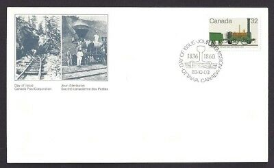 Canada  # 1000  Canadian Locomotive  Dorchester 0-4-0 Type  New 1983 Unaddressed
