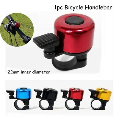 Rings Safety Bike Bell Cycling Bicycle Handlebar  Horn Sound Alarm Metal Ring