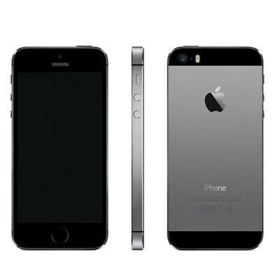 Dummy Telefono Finto Da Esposizione Vetrina Iphone 5S Spento Space Grey Replica