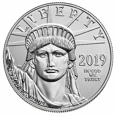 2019 - $100 1oz American Platinum Eagle BU
