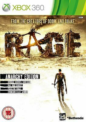 * Xbox 360 NEW SEALED Game RAGE - ANARCHY EDITION * WORKS ON XBOX ONE