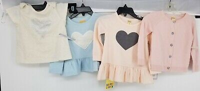 HARPER CANYON Graphic Applique Tees Tops NEW Baby Girls Size 12M Lot of 4