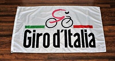 Giro d'Italia Flag Cycling Bike Shop Italian Bike Race Tour Italy Italia Banner
