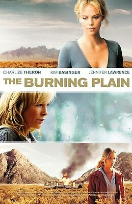 The Burning Plain poster - Charlize Theron Jennifer Lawrence  - 11 x 17 inches