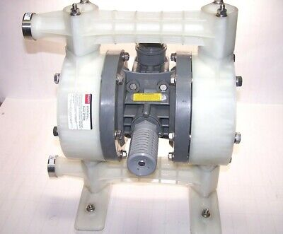 "Dayton 1"" Polypropylene/santoprene Double Diaphragm Pump 6Py36B"