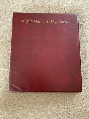 Royal Mail First Day Cover Album with 15 blank pages