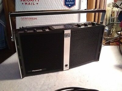 Vintage Panasonic Stereo Spacer RF-973, FM-AM-FM Stereo Works