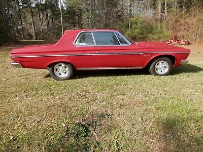 1963 Plymouth Fury  1963 Plymouth Sport Fury (clone)