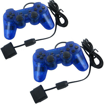 Dual Shock Wired Game Controller Gamepad Joypad Joystick for Sony PS2 Console US