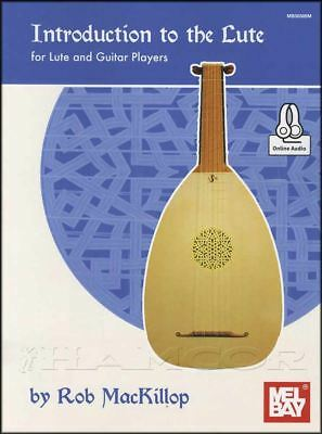 Introduction to the Lute For Lute and Guitar Players TAB Music Book/Audio Method
