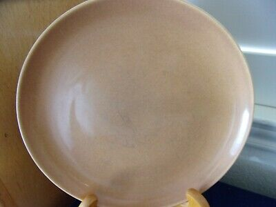 """Iroquoise Casual China Nutmeg Brown 10"""" Dinner Plate~Russell Wright"""