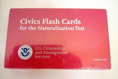 US CITIZENSHIP CIVICS FLASH CARDS for the US Naturalization Test