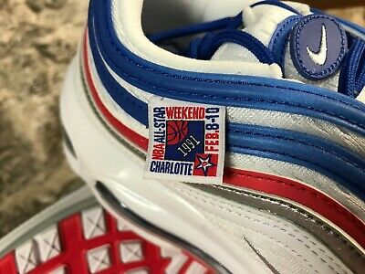 Men's Nike Air Max 97 921826-404 1991 All Star Game Charlotte NBA RETRO NEW 2019