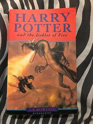 Harry Potter And The Goblet Of Fire, J. K. Rowling, Bloomsbury, Paperback 2000
