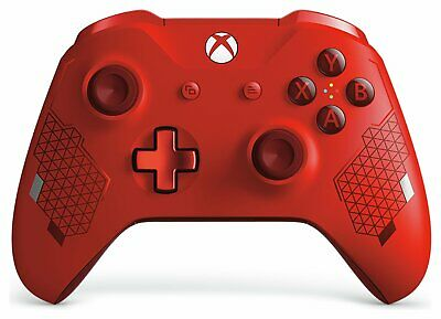 Official Xbox One Wireless Controller - Sport Red Special Edition