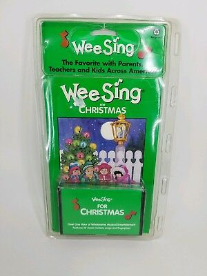 Wee Sing Christmas 1Hr Audio Cassette & Songbook 1984 New Sing A Long Family Fun