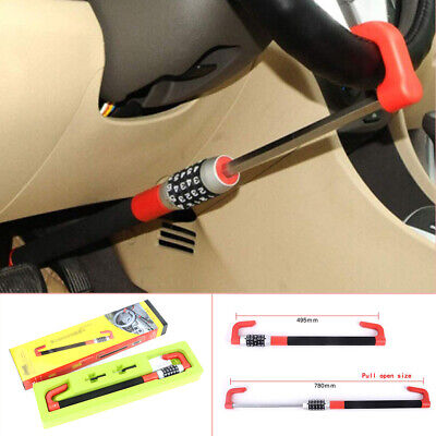 7-15.5'' Car Anti Theft Steering Wheel Lock Car Van Security Device Clutch Lock