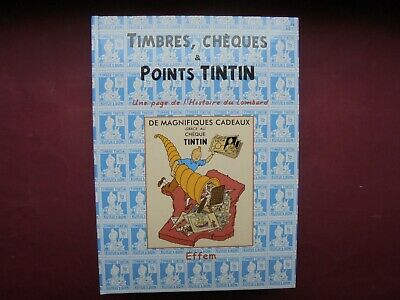 Herge Hommage Timbres Cheques Et Points Tintin Comme Neuf