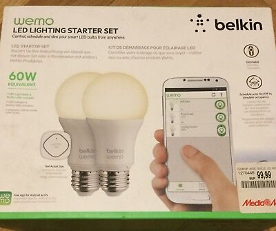 Wemo Led Lighting Starter Set Belkin