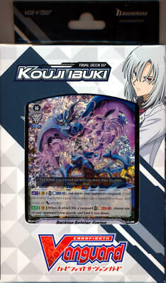 Cardfight Vanguard VGE-V-TD07 New Kouji Ibuki Trial Deck English Link Joker