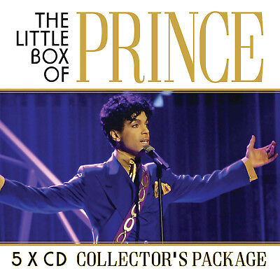 PRINCE New Sealed 2019 LIVE CONCERTS & MORE 5 CD BOXSET