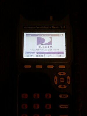 Directv Advanced Satellite Installation Meter 1.5  AIM  with charger no case