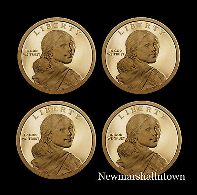 2016 2017 2018 2019 S Native American Sacagawea Mint Proof Coins from Proof Set