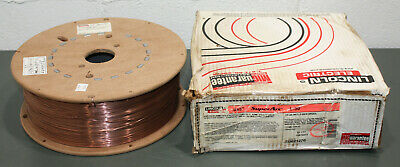 """(44 lbs) Lincoln Carbon Steel Wire ER70S-3, .045"""", Mig Welding, SuperArc L-50"""