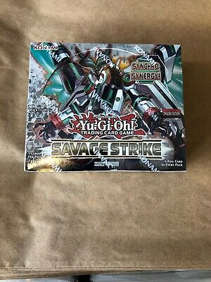 YuGiOh English Savage Strike SAST Booster Box FACTORYSEALED 24 PACKS