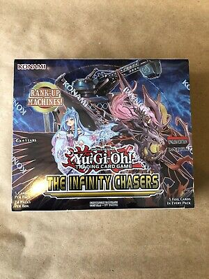 YuGiOh English Infinity Chasers 1st Edition Booster Box SEALED