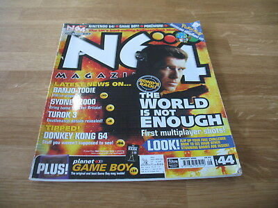 N64 Nintendo official Magazine # 44 issue 44 August 2000