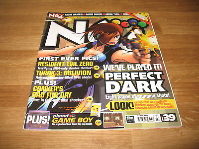 N64 Nintendo official Magazine # 39 issue 39 March 2000