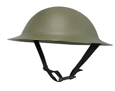 532fce9e6cf Adult WW2 British Army Brodie Tommy Doughboy Style Costume Plastic Helmet  Hat