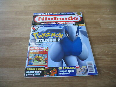 Nintendo official Magazine # 106 issue 106 July 2001 N64