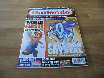 Nintendo official Magazine # 109 issue 109 October 2001 N64