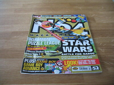 N64 Nintendo official Magazine # 52 issue 52 March 2001